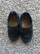 Toddler Boys Black Slip On Dress Shoes Size 7 Healthtex
