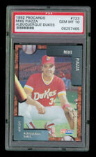 1992 ProCards Fleer Mike Piazza Dukes #723 PSA 10 Card