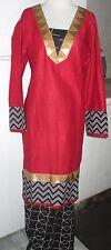 new women style beautiful gold  lace piece soft  Cotton  salwar kameez SizeXL44