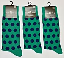 3 English Laundry Shoe Size 61/2 - 12 Green with Blue Dots