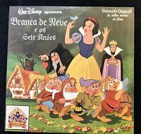 Disney Schneewittchen Vinyl LP Brasilien Brazil Pressing 1987 Snow White Vintage