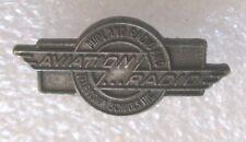 Vintage Aviation Radio - Midland Radio and Television Schools Class Pin