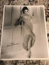 Connie Francis 8x10 Autograph SIGNED PHOTO JSA COA