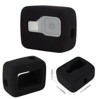 Wind Noise Foam Windshield Housing Frame Case Cover for GoPro Hero 8 Black
