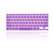 "Arabic / English PURPLE Silicone Keyboard Cover  for Macbook Pro 13"" 15"" 17"""