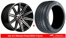 5 Series Axe One Piece Rim Wheels with Tyres