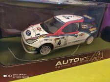 1/18 autoart ford focus wrc 2002 rally cataluna sainz
