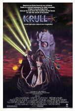 KRULL Movie POSTER 27x40 Ken Marshall Lysette Anthony Freddie Jones Francesca