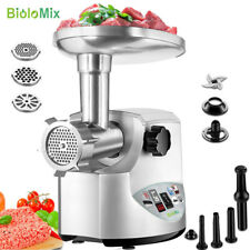 3000W Max Heavy Duty Electric Meat Grinder Home Sausage Stuffer Meat Mincer 220V