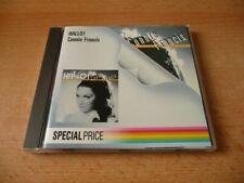 CD Connie Francis - Hallo !  1987 - 14 Songs - Special Price Edition
