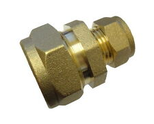 1/2 Inch 6lb Lead Pipe to 15mm Copper Pipe Coupler / Connector