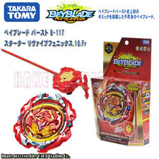 Takara Tomy Beyblade Burst B-117 Revive Phoenix B113 Hell Salamander