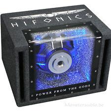 HIFONICS Mini 20cm Bandpass Subwoofer Subbox Subkiste 600 Watt Titan TX-8BPI