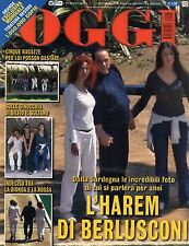 Oggi 2007 17.SILVIO BERLUSCONI,ANNA TATANGELO & GIGI D'ALESSIO,PAOLA FERRARI