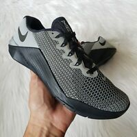 Nike Metcon 5 X Training Sneakers in Black/Silver Womens Size 7
