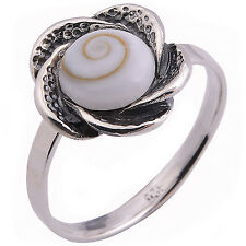 Shiva Eye Ring Sterling Silver Size.US=8, UK=P.Adjustable