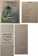 Paradise in Trust A Report on Americans in Micronesia 1946-1958 Robert Trumbull