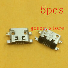 5 X New Micro USB Charging Sync Port Charger For Huawei Ascend G7 / G7-TL00