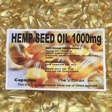 CHANVRE Huile de graines 1000MG 60 Gélules (L)