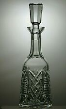 """WATERFORD CRYSTAL """"CLARE"""" CUT ROUND WINE DECANTER  - 13 1/4"""""""