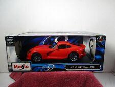 1/18 SCALE MAISTO RED 2013 VIPER GTS