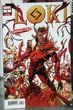 MARVEL COMICS LOKI #1 WILL SLINEY CARNAGE-IZED VARIANT COVER