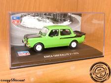 oscuro-salmón naranja//negro Norev 319251 Simca 1000 Rallye 2 multigam Classic