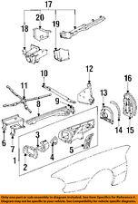 JAGUAR OEM 84-94 XJS Fender-Extension Bracket Left RTC1580