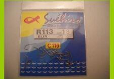 1 confezione 20  Ami Suehiro in acciaio 110 carbon serie r113 n 20 pesca mf bi9