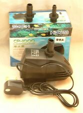 Aquarium Water Pump 1000lph fully submersible suitable for sumps