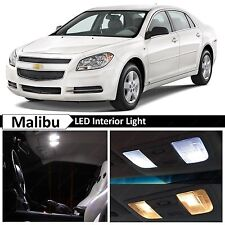 11x White Interior LED Lights Package Kit for 2008-2012 Chevy Malibu + TOOL