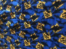 "2 PIECES EACH 54"" X 39"" FLANNEL SHARK FABRIC"