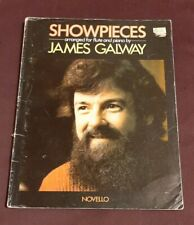 Showpieces arranged for Flute and Piano by James Galway Uk import music book