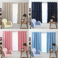 Window Blackout Curtains Room Thermal Insulated Kids Boy Girls Bedroom Decor Uk