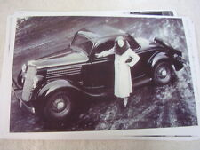 1935 FORD  COUPE 11 X 17  PHOTO /  PICTURE