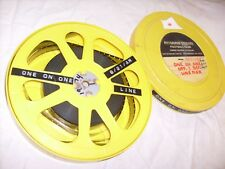1974 Vintage Projector Film, Pittsburgh Steelers Football - 16mm - one on one