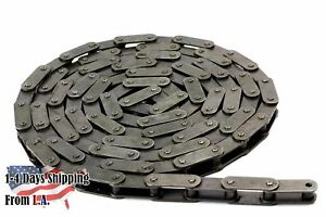 #C2060H Heavy Duty Conveyor Roller Chain 10 Feet with 1 Connecting Link