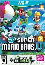 New Super Mario Bros. U + New Super Luigi U (Nintendo Wii U, 2015)  (USED)  (S.L