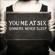 You Me at Six-Sinners Never Sleep-CD NUOVO