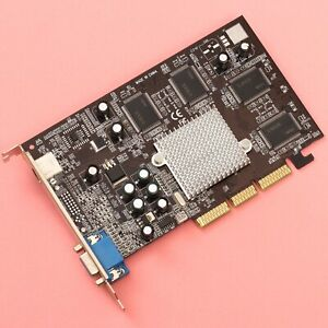 GeForce 4 440MX 128MB DDR AGP 8x Video Card w/ VGA and TV Output