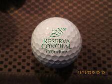 LOGO GOLF BALL-RESERVA CONCHAL GOLF CLUB...COSTA RICA...PROV1 BALL...RARE
