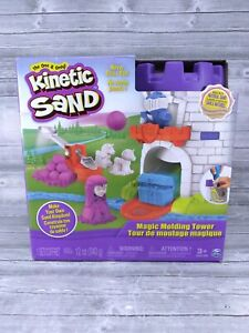 Spin Master Kinetic Sand Magic Moulding Tower 6035824 New Factory Sealed