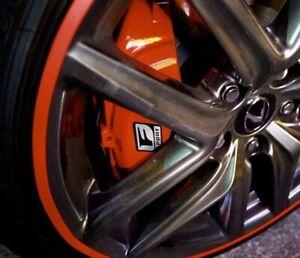 RED Rimblades Light Alloy Wheel Rim Protectors/guards/tape-replace Trims Rims