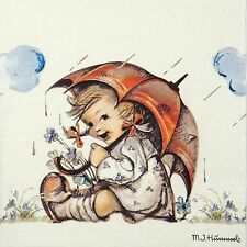 4x Paper Napkins -Umbrella Girl- for Party, Decoupage