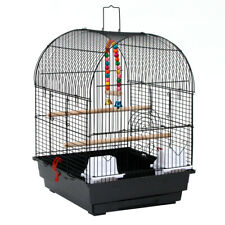 "19"" Small Bird Cage Pet Supplies Metal Cage for Parrots Lovebird Budgerigar new"