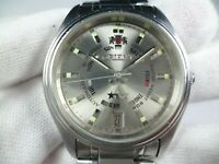 Vintage ORIENT 3 STARS Automatic 21 jewels Japan EM 5 Men Wrist Watch Rare