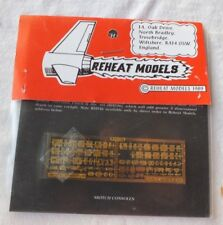 1/48 REHEAT MODELS COCKPIT SWITCH CONSOLES # RH034