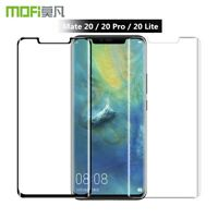 For Huawei Mate 20 Pro / Lite 5D Full Cover Real Tempered Glass Screen Protector