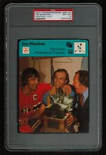 PSA 8 THE SEVEN PROFESSIONAL TROPHIES Sportscaster Hockey Card #38-07 LaFLEUR