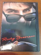 Risky Business Comedy Movie Dvd Tom Cruise Rebecca De Mornay Used